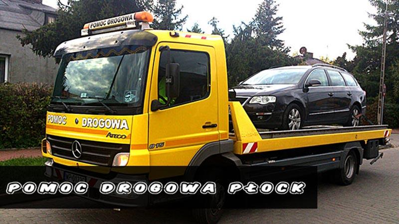 pomoc drogowa w Płocku
