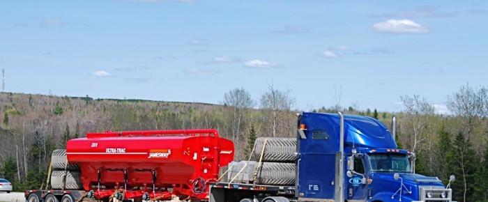 Transport maszyn budowlanych Płock rolniczych wózków widłowych